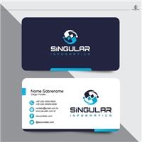 Singular Informática, Logo e Identidade, Computador & Internet