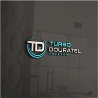 Turbo Douratel Telecom, Logo e Identidade, Computador & Internet