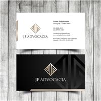 JF Advocacia, Logo e Identidade, Advocacia e Direito