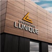 CONSTRUTORA LUNIQUE, Logo e Identidade, Construção & Engenharia