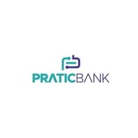 PRATICBANK, Logo e Identidade, Computador & Internet