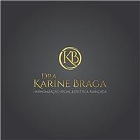 Dra Karine Braga - Harmonização Facial & Estética Avançada, Logo e Identidade, Beleza