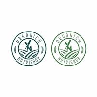 Orgânica Nutrishop, Logo e Identidade, Alimentos & Bebidas