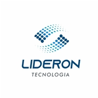 O nome da empresa é Lideron (junção das palavras Liderança Online), Logo e Identidade, Tecnologia & Ciencias