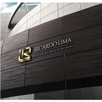 Ricardo Lima Advocacia Criminal, Logo e Identidade, Advocacia e Direito