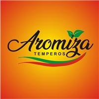 AROMIZA / ALIMENTOS OU TEMPEROS, Logo e Identidade, Alimentos & Bebidas