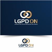 Empresa: LGPD ON | Slogan: Ligado na Lei de proteção de dados., Logo e Identidade, Outros