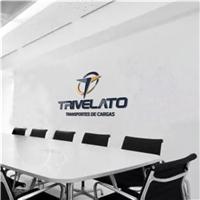 Trivelato Transportes de Cargas, Logo e Identidade, Logística, Entrega & Armazenamento