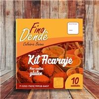 Fino Dendê/ acarajé, Embalagens de produtos, Alimentos & Bebidas