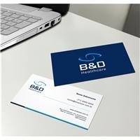 B&D Healthcare, Logo e Identidade, Logística, Entrega & Armazenamento