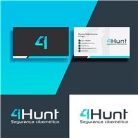 4Hunt, Logo e Identidade, Computador & Internet