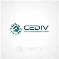CEDIV - Centro de Diagnostico por Imagem Veterinario, Logo e Identidade, Animais