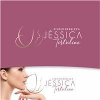 Studio de Beleza Jéssica Tertulino, Logo e Identidade, Beleza