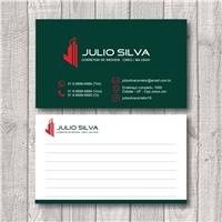 JULIO SILVA, Logo e Identidade, Imóveis