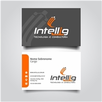 Intellig Tecnologia e Consultoria, Logo e Identidade, Tecnologia & Ciencias
