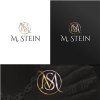 M. Stein ou M Stein (qual ficar melhor), Logo e Identidade, Roupas, Jóias & acessórios