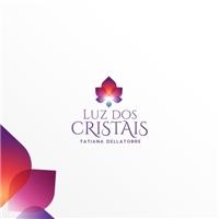 Luz dos Cristais Tatiana Dellatorre, Logo e Identidade, Religião & Espiritualidade