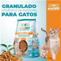 MACS PET - Granulado Higiênico de Madeira, Embalagens de produtos, Animais