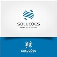 SOLUÇÕES CORRETORA DE SEGUROS, Logo e Identidade, Outros