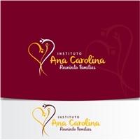 INSTITUTO ANA CAROLINA, Logo e Identidade, Associações, ONGs ou Comunidades
