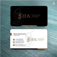Instituto de Flebologia Avançada - IFA, Logo e Identidade, Saúde & Nutrição