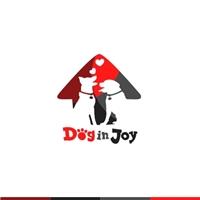 Dog in Joy, Logo e Identidade, Pets