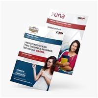 CLEAN CLUBE DE VANTAGENS, Peças Gráficas e Publicidade, Outros