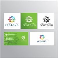 Instituto Ecótono, Logo e Identidade, Ambiental & Natureza