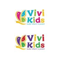 Vivi Kids, Logo e Identidade, Crianças & Infantil
