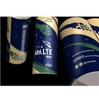 VIA MALTE - Kölsch (estilo da cerveja que deve constar no rótulo), Embalagens de produtos, Alimentos & Bebidas