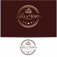 La Bella Torta, Logo e Identidade, Alimentos & Bebidas