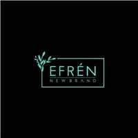 EFRÉN  (NEW BRAND >> EM MENOR QUE O EFRÉN NUMA FONTE BEM SIMPLES), Logo e Identidade, Roupas, Jóias & acessórios