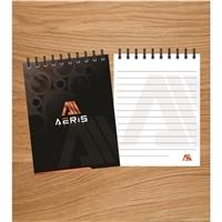 Empresa - Aeris Metais, Logo e Identidade, Metal & Energia