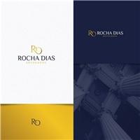 Rocha Dias Advogados, Logo e Identidade, Advocacia e Direito