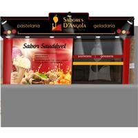 Fachada Sabores D'Angola / frase:  sabor saudável, Outros, Alimentos & Bebidas