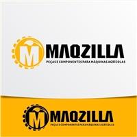 MAQZILLA IMPORTAÇÃO E EXPORTAÇÃO DE PARTES E PEÇAS E IMPLEMENTOS AGRIC, Logo e Identidade, Automotivo