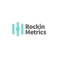 Rockin Metrics, Logo e Identidade, Marketing & Comunicação