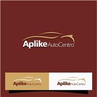 Aplike Auto Centro, Logo e Identidade, Automotivo