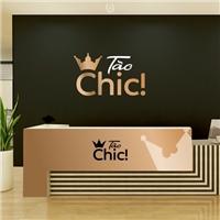 Tão Chic!, Logo e Identidade, Roupas, Jóias & acessórios