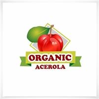 Organic Acerola, Logo e Identidade, Alimentos & Bebidas