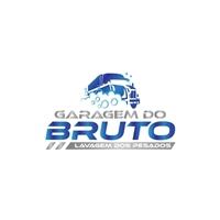 Garagem do Bruto - Lavagem dos Pesados, Logo e Identidade, Automotivo