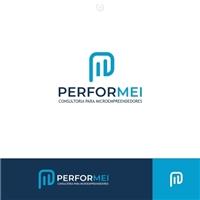 PERFORMEI Consultoria para Microempreendedores, Logo e Identidade, Consultoria de Negócios