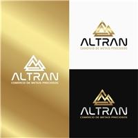 Altran Comércio de Metais Preciosos, Logo e Identidade, Metal & Energia