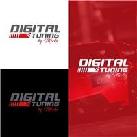 DIGITAL TUNING, Logo e Identidade, Automotivo