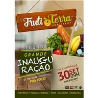 Fruti Terra Hortifrúti, Peças Gráficas e Publicidade, Alimentos & Bebidas