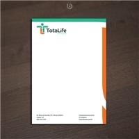 Totalife, Logo e Identidade, Saúde & Nutrição