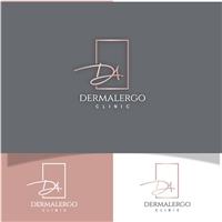 DermAlergo - CLINIC , Logo e Identidade, Saúde & Nutrição