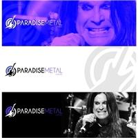 PARADISE METAL, Logo e Identidade, Artes, Música & Entretenimento