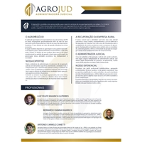 AGROJUD ADMINISTRADORA JUDICIAL, Peças Gráficas e Publicidade, Consultoria de Negócios