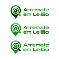 Arremate em Leilão - Assessoria em Leilões, Logo e Identidade, Imóveis